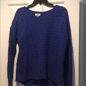 Old navy purple knitted sweater